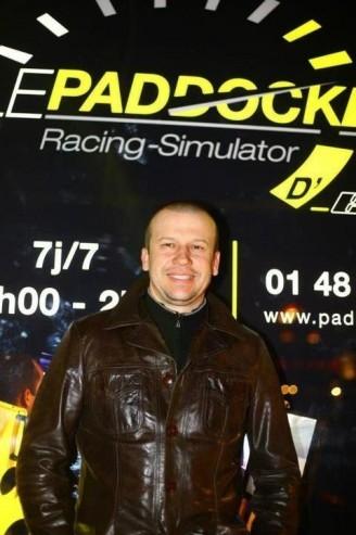 Olivier Panis au Paddock