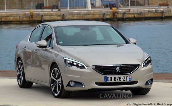 Peugeot 508 restylee by Cavalino