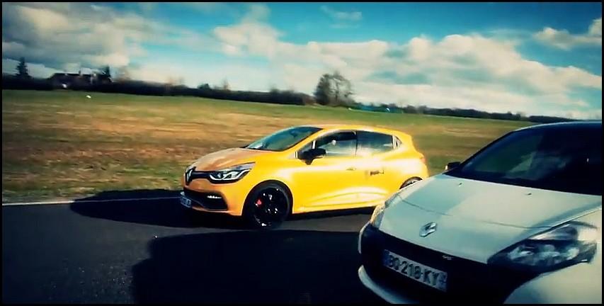 Renault Clio 3 RS vs Clio 4 RS