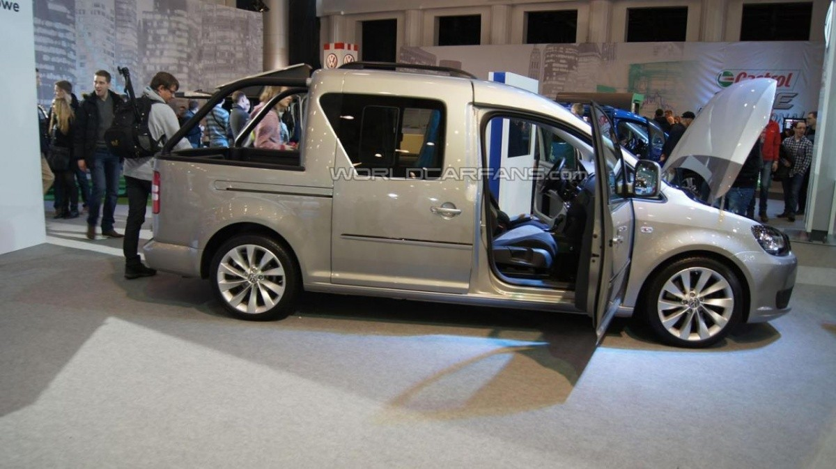 volkswagen caddy pick up concept blog automobile. Black Bedroom Furniture Sets. Home Design Ideas