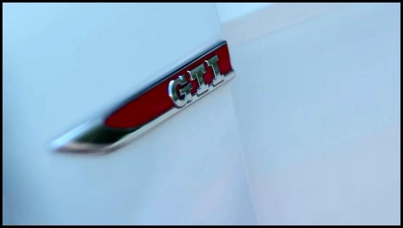 VW Golf GTI trailer