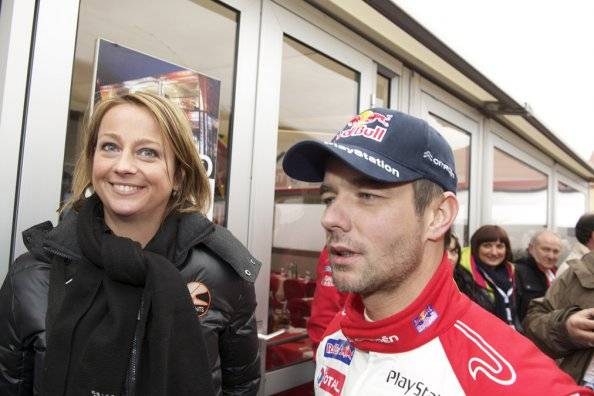 Family photo of the driver, married to Séverine Loeb, famous for WTCC Race Winner.