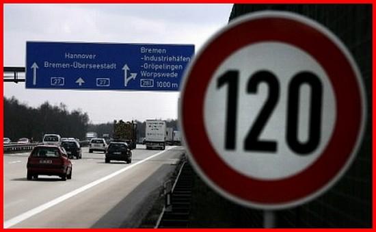 120 km-h en allemagne ............