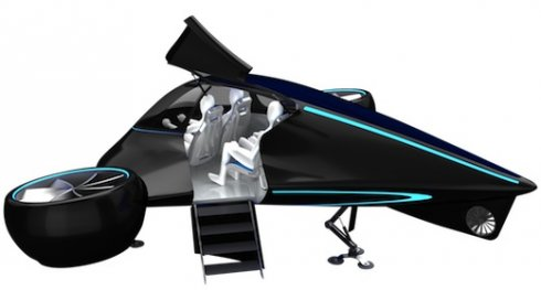 la voiture volante adav pr te en 2017 blog automobile. Black Bedroom Furniture Sets. Home Design Ideas