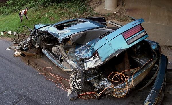 Accdent de la route en Pontiac
