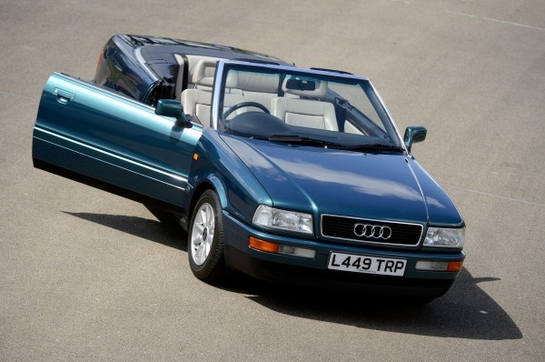 Audi 80 Cabriolet de la princesse Diana.1