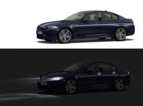 BMW M5 non restylée jour et nuit