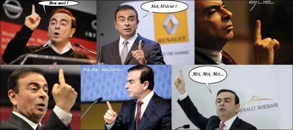 Carlos ghosn - 11.2 millions d'euros en 2012