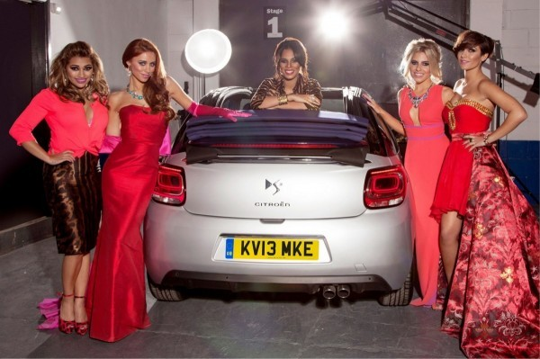 Citroën DS3 cabriolet avec The Saturdays.1