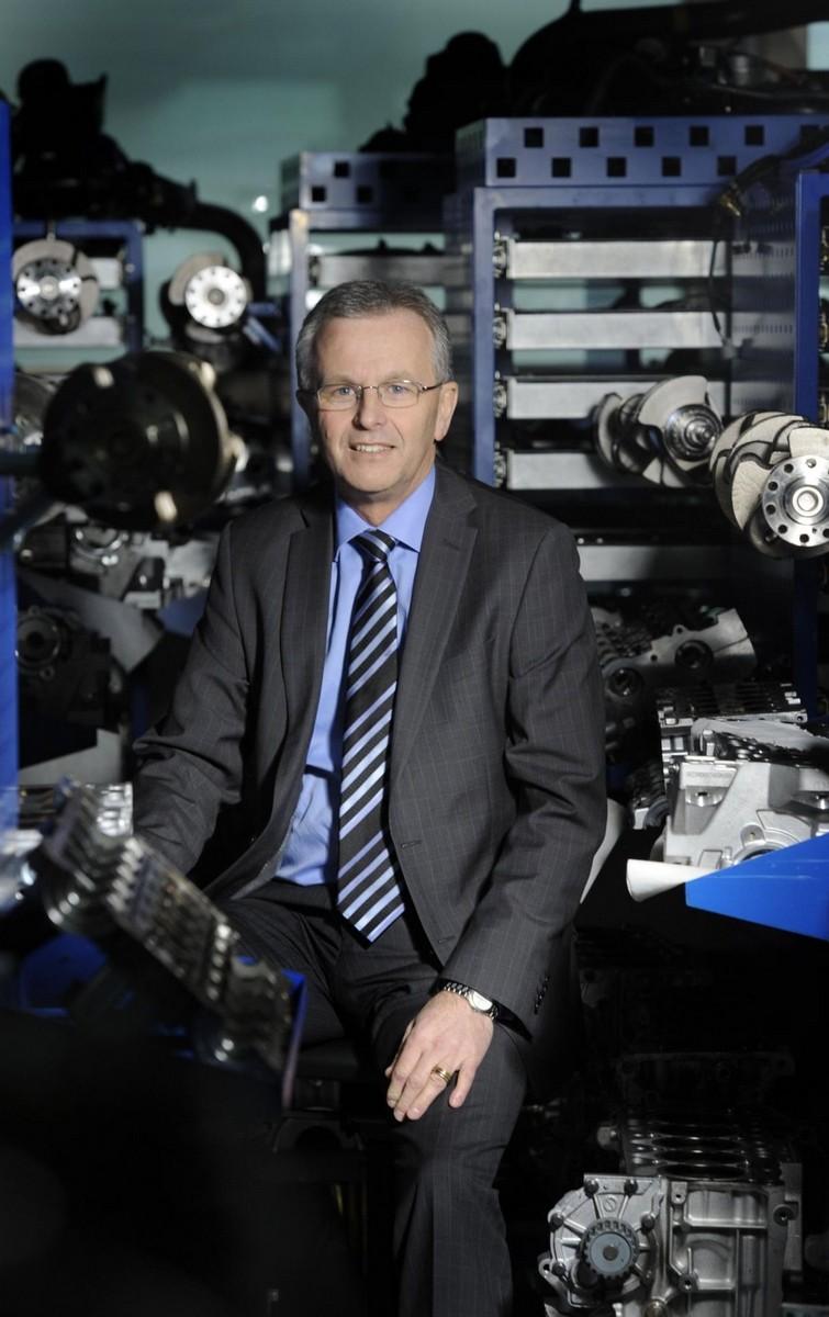 Derek Crabb Vice President Volvo Powertrain Engineering