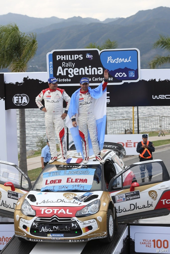 AUTO - WRC RALLY D' ARGENTINE 2013