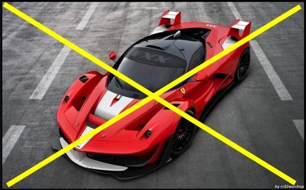 Ferrari LaFerrari FXX , c'est non ... by RC82 Workchop