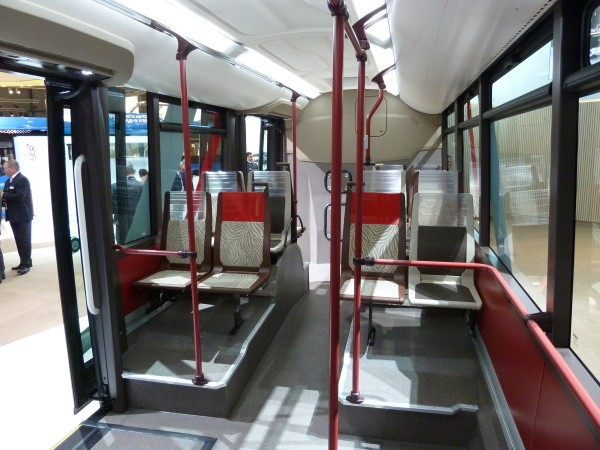 Iveco Bus UrbanWay intérieur 2