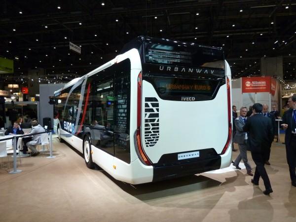 Iveco Bus UrbanWay rear