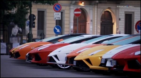Lamborghini fête ses 50 ans.1