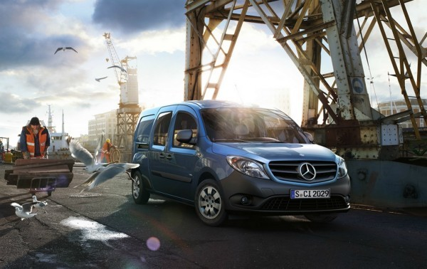Mercedes Benz Citan - 3500 exemplaires au rappel -