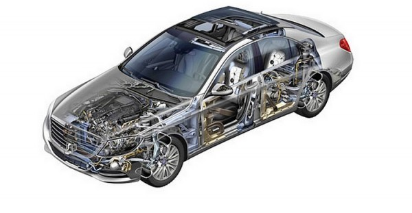 Mercedes Benz Classe S W222.46