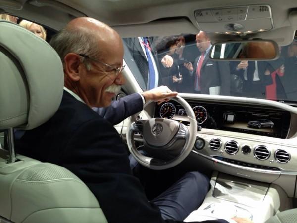 Mercedes Benz Classe S W222.50