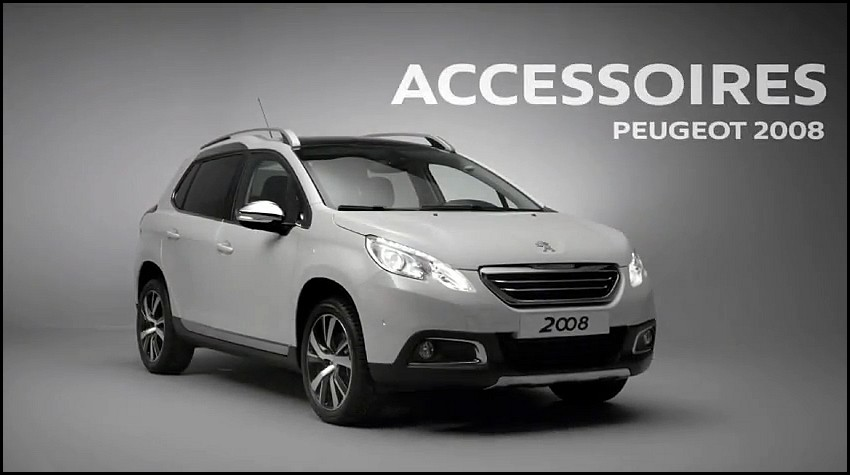 peugeot 2008 accessoirisez le vid o blog automobile. Black Bedroom Furniture Sets. Home Design Ideas