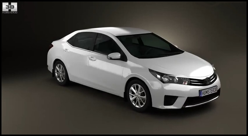 Toyota Corolla 2014 by Humster 3D