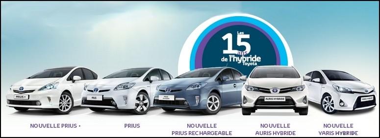 Toyota Hybrides