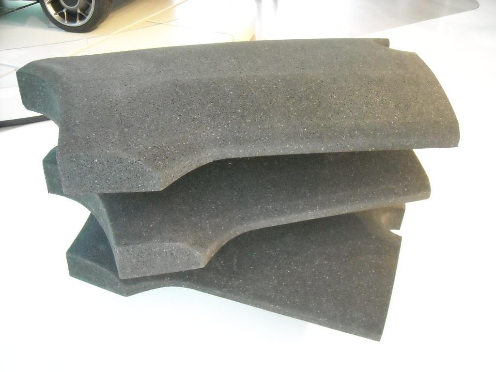 Morceaux de polypropylène expansé de la société ARPRO, utilisés sur la Me.We