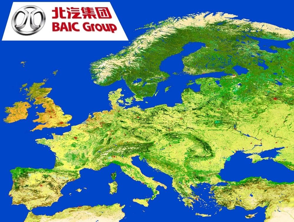 BAIC a des vues sur l'Europe