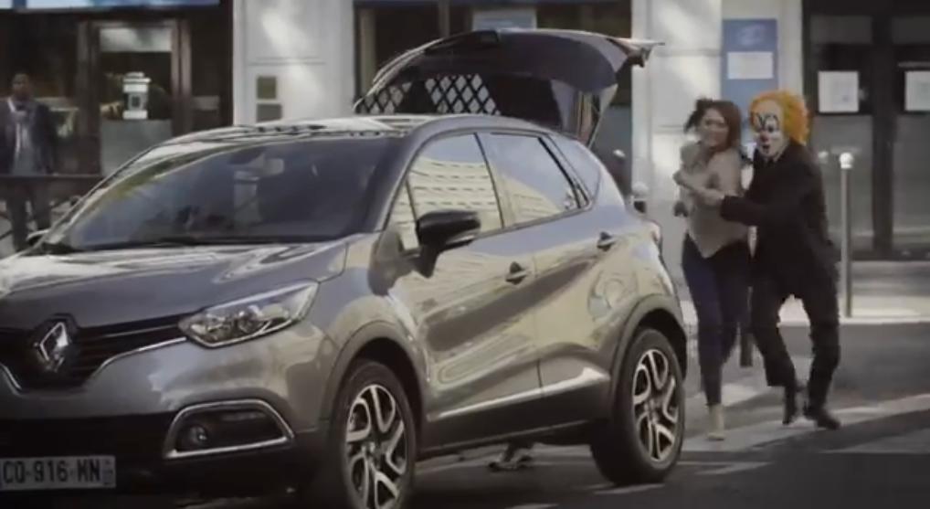 Captur Renault prise d'otage