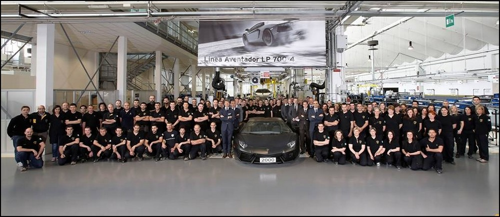 Lamborghini Aventador 2000 ex produits