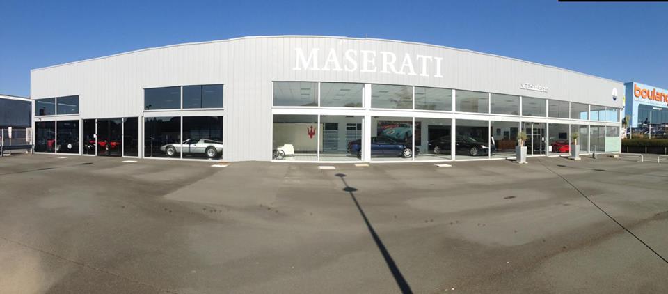 Maserati un nouveau concessionnaire en france blog automobile - Garage automobile la roche sur yon ...
