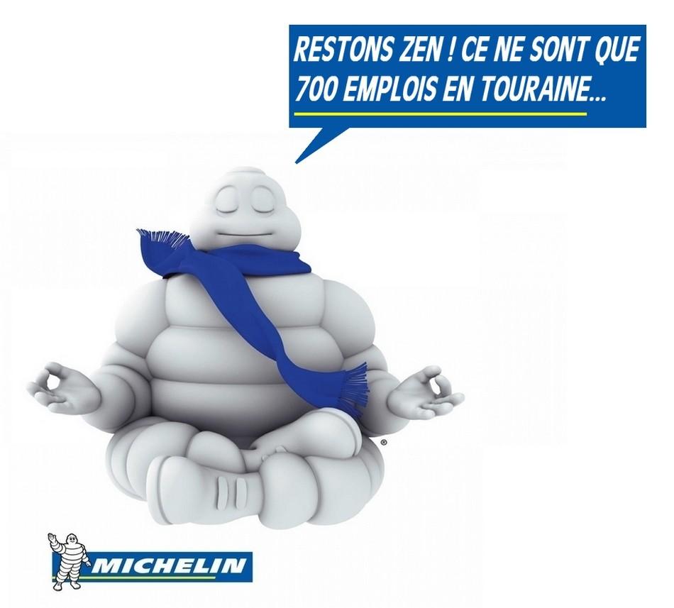 Michelin supprimes 700 emplois à Joué les Tours
