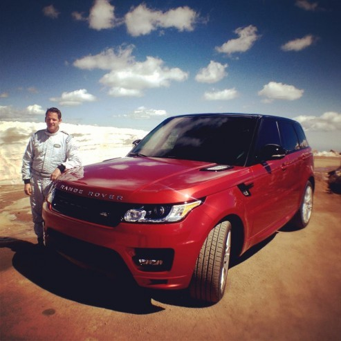 Paul Dallenbach et Range Rover Sport Pikes Peak .1