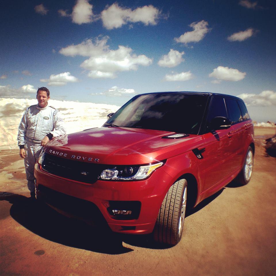 Paul Dallenbach et Range Rover Sport Pikes Peak