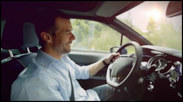 Sébastien Loeb et la DS3 Cabrio