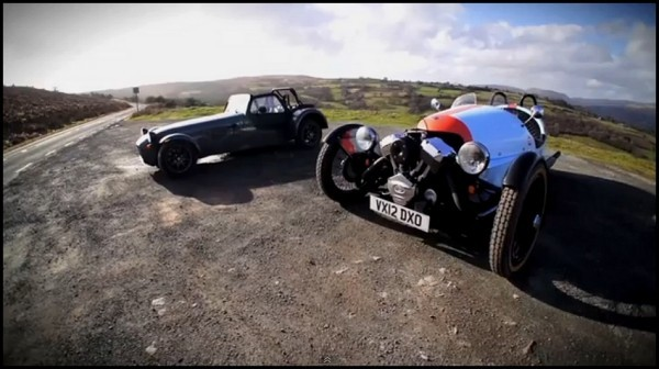 caterham SEVEN vs Morgan Three Wheeler par Chris Harris