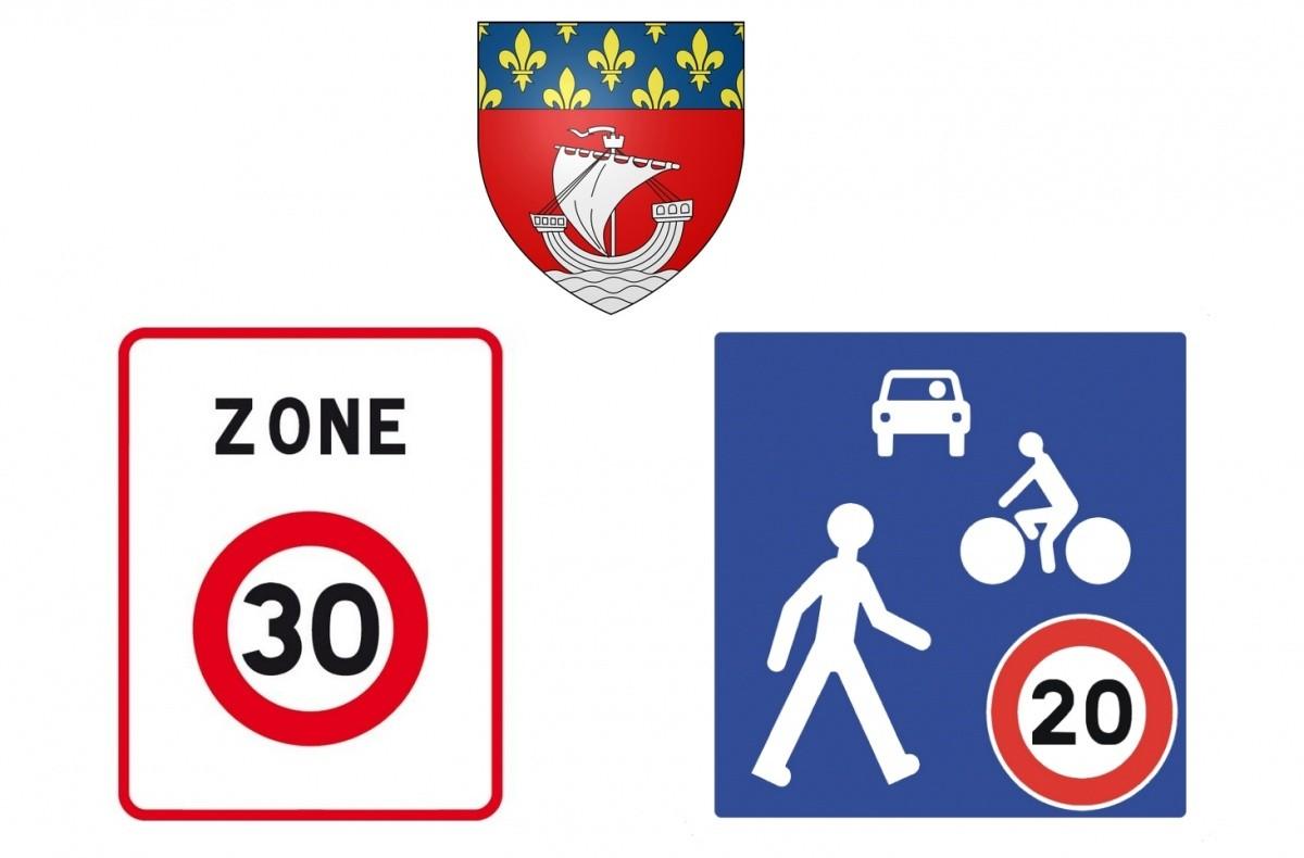 zones 20 & 30 Paris : rentrée 2013