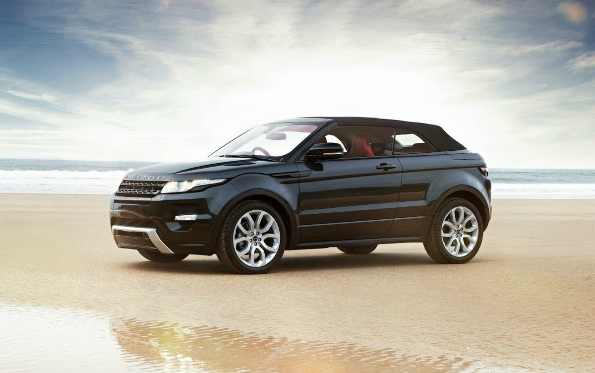 land rover feu vert pour le range rover evoque cabriolet. Black Bedroom Furniture Sets. Home Design Ideas