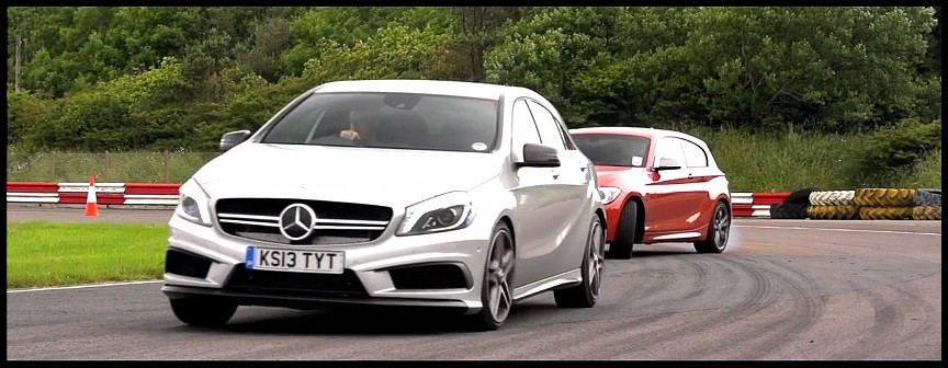 essai a45 amg vs 135i m chris harris nerve les germaines vid o blog automobile. Black Bedroom Furniture Sets. Home Design Ideas