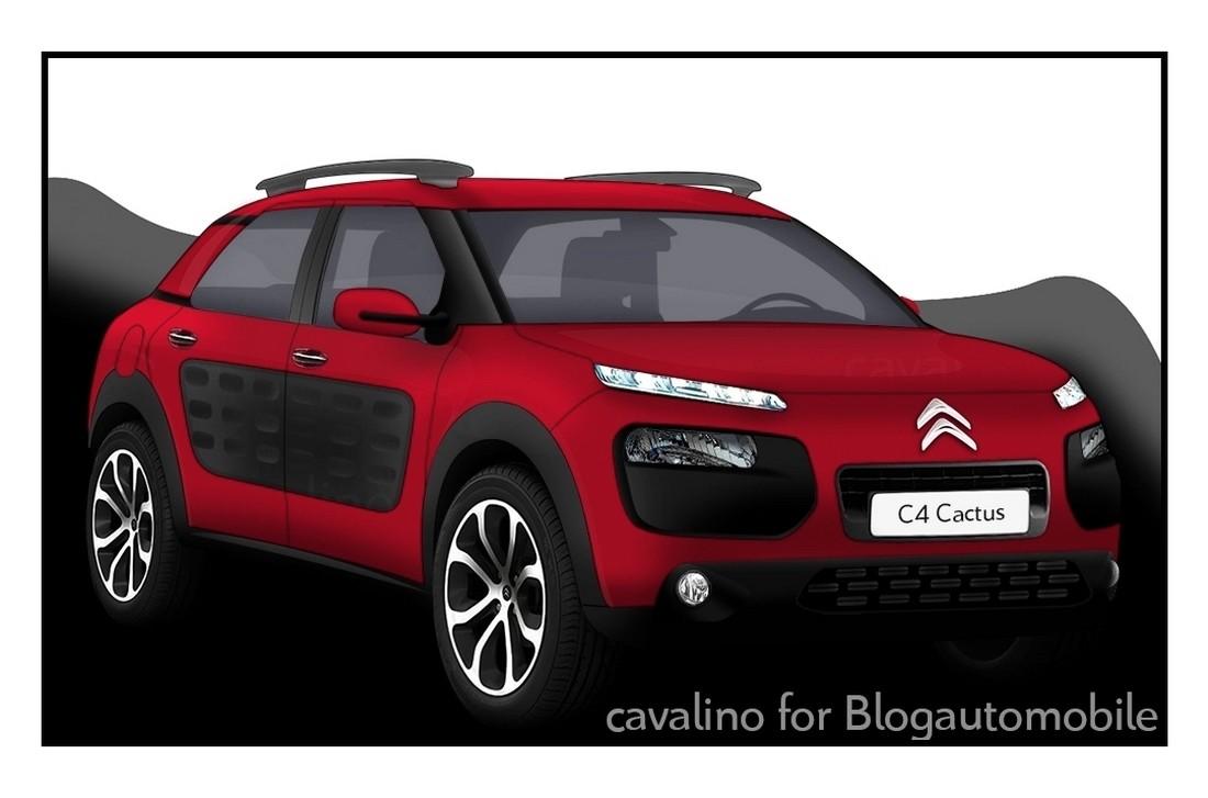 citro n c4 cactus la nouvelle vision du crossover de loisir blog automobile. Black Bedroom Furniture Sets. Home Design Ideas