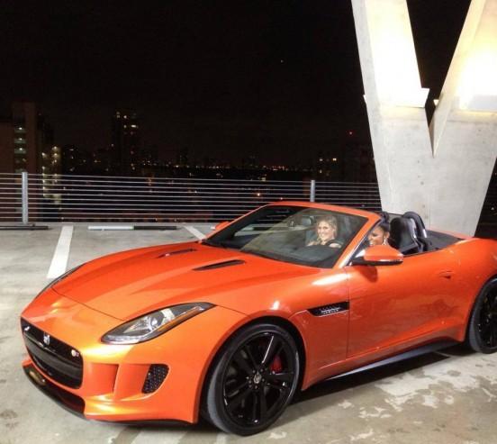 Kelly Rowland et Jaguar.3