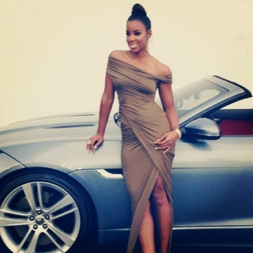 Kelly Rowland et Jaguar.4