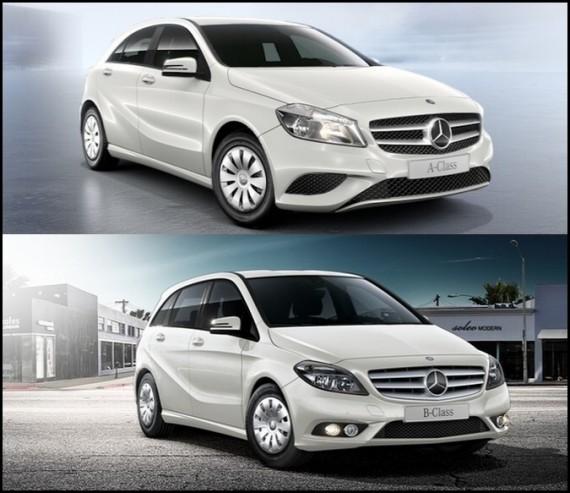 Mercedes Benz A160 CDI & B160 CDI