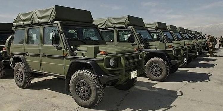 Mercedes Benz Classe Armée suisse