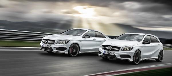 Mercedes Classe A45 AMG et CLA 45 AMG
