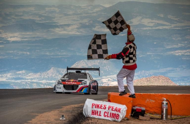 Peugeot 208 T16 Pikes Peak success