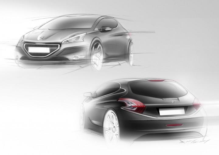 Sketchs Peugeot 208 (1)