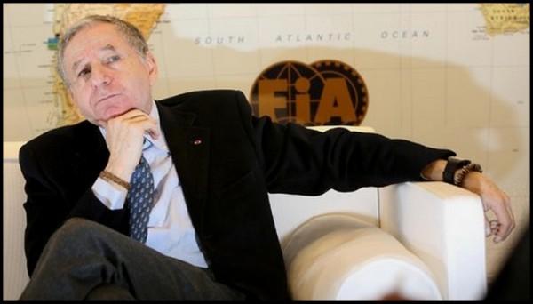Todt dans un fauteuil à la FIA