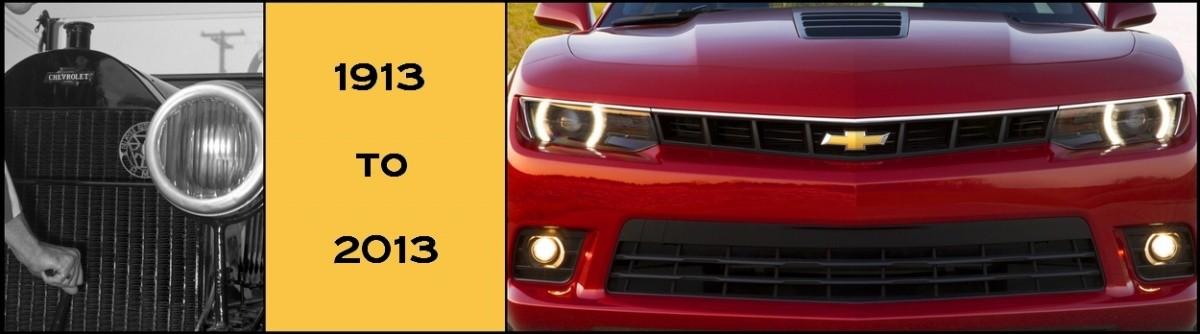 Un siècle de logo Chevrolet