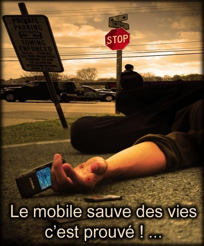 le mobile sauve des vies c'est prouve
