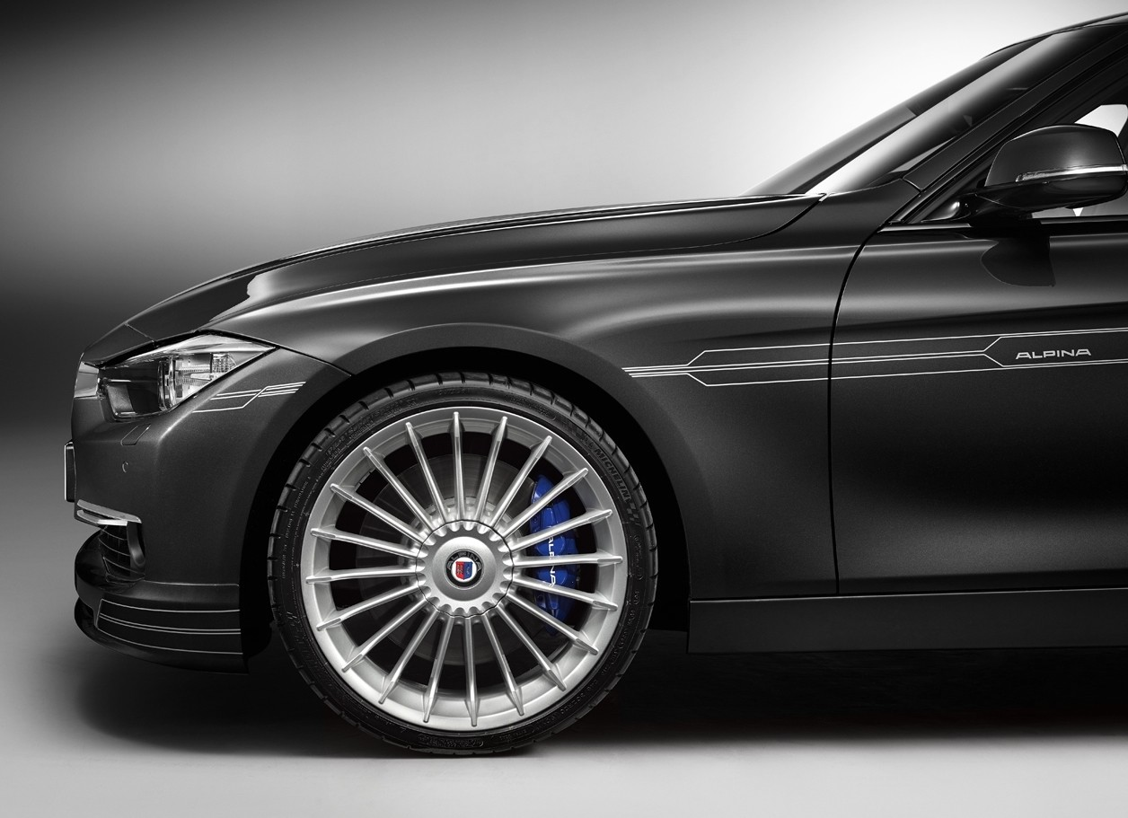 Alpina B3 Biturbo par Chris Harris